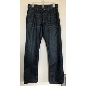 PRPS Mens Barracuda Distressed Button Fly Jeans